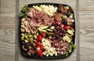 Antipasto catering platter from Zupans