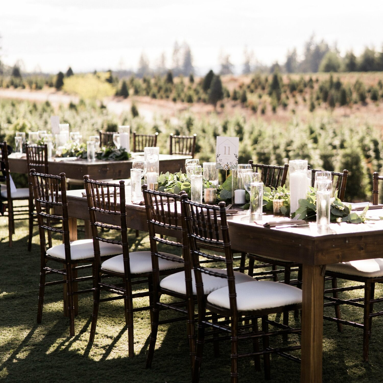 photo of a wedding table