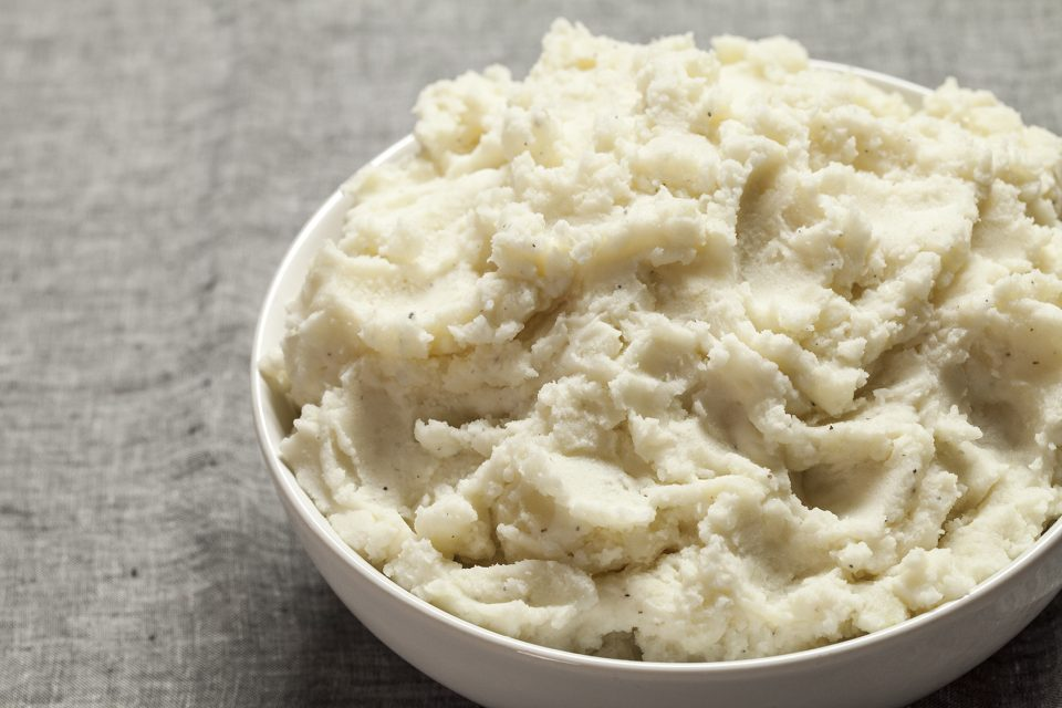 Classic mashed potatoes