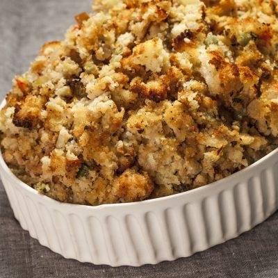 Thanksgiving cornbread stuffing