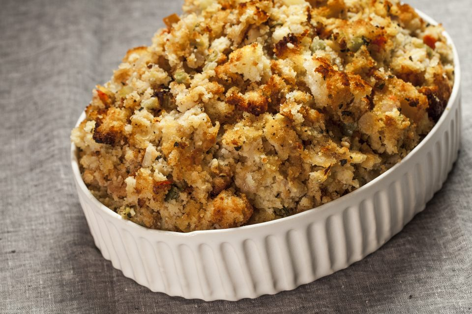 Thanksgiving cornbread stuffing