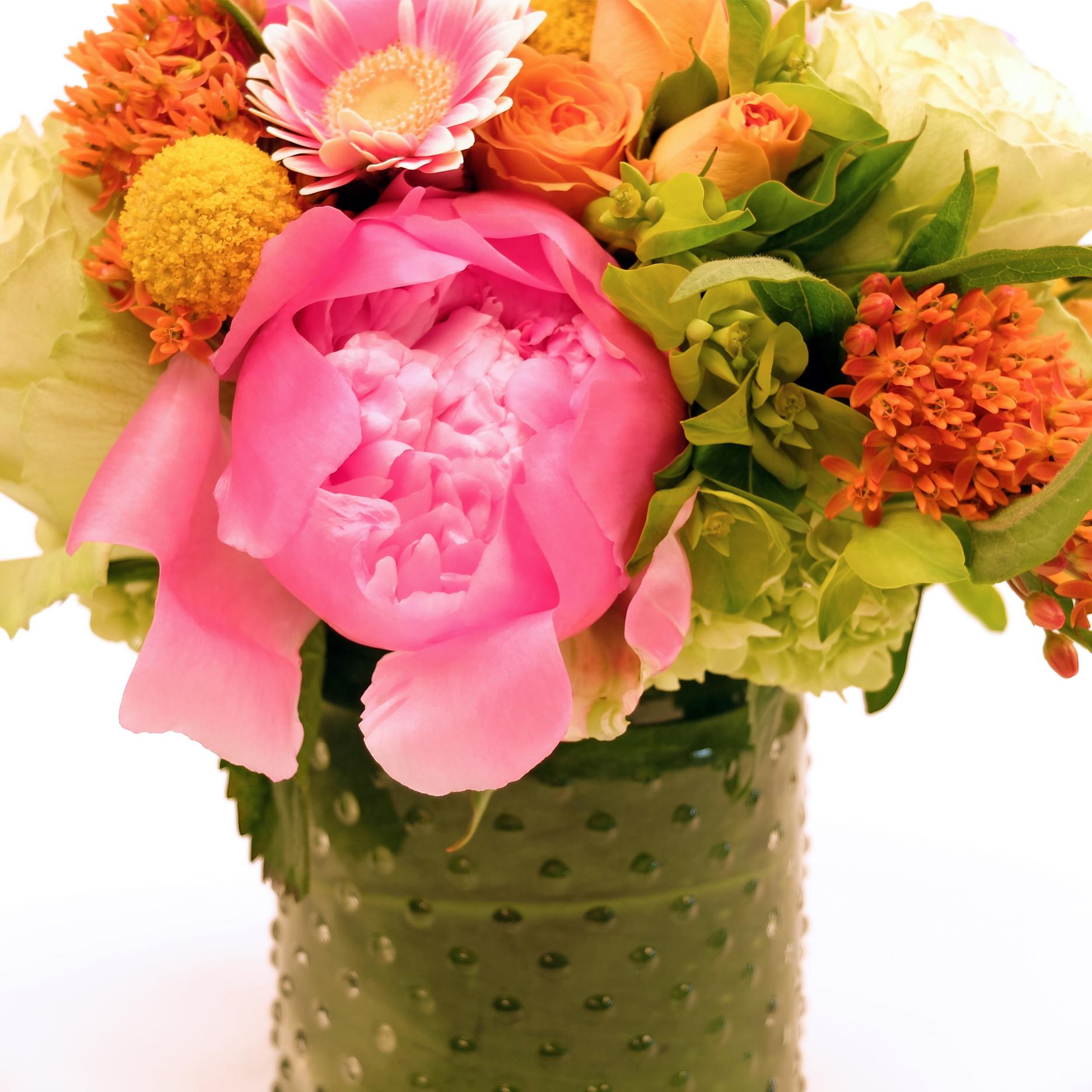 Pop Of Color Floral Bouquet Portland Flower Shop