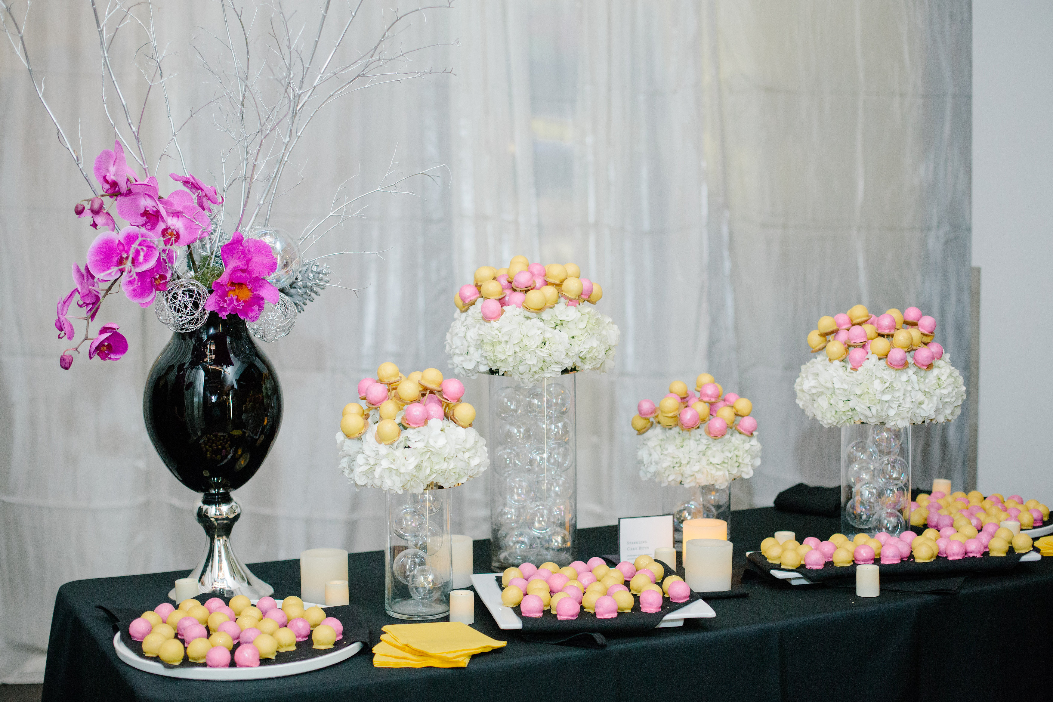 Champagne tasting event