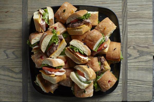 Zupans sandwich tray
