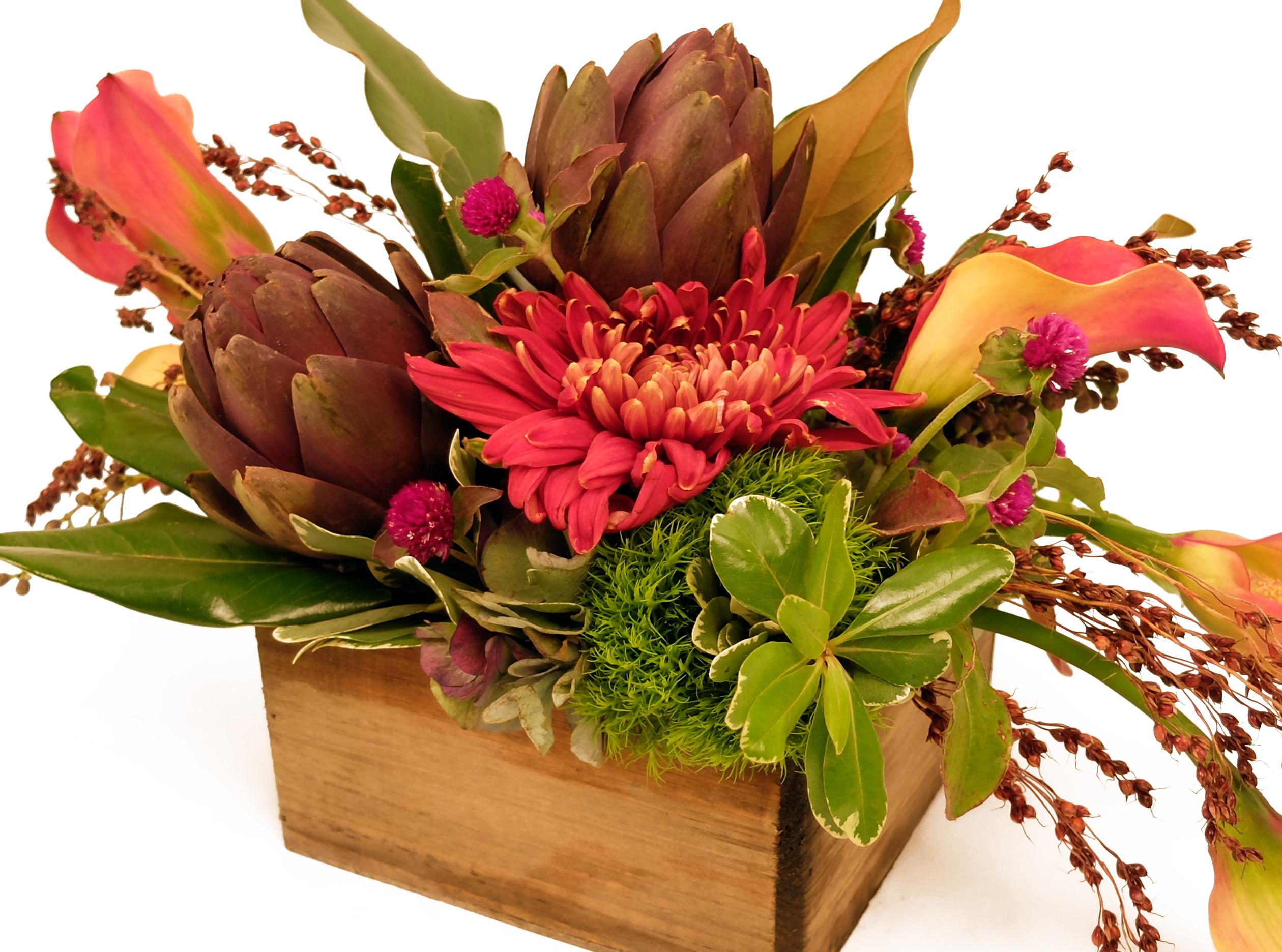 autumn floral bouquet