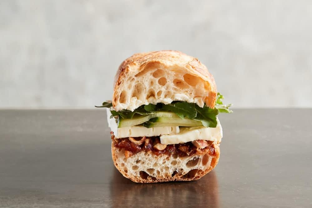 Zupan's Cucumber Brie Sandwich