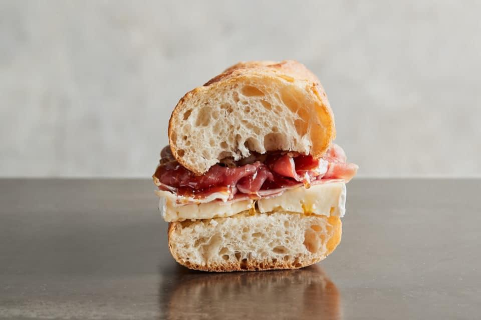 Zupan's Prosciutto & Brie Sandwich