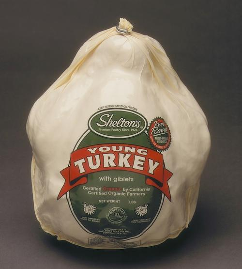 Organic turkey from Shelton's