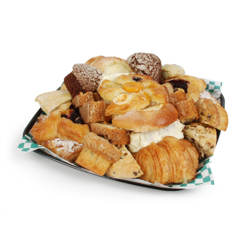 breakfast pastry tray