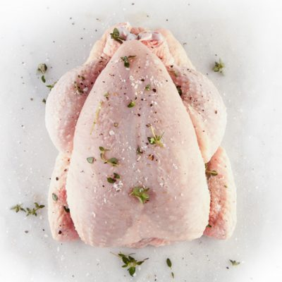 whole turkey from Zupan's meat department in the Lake Grove store