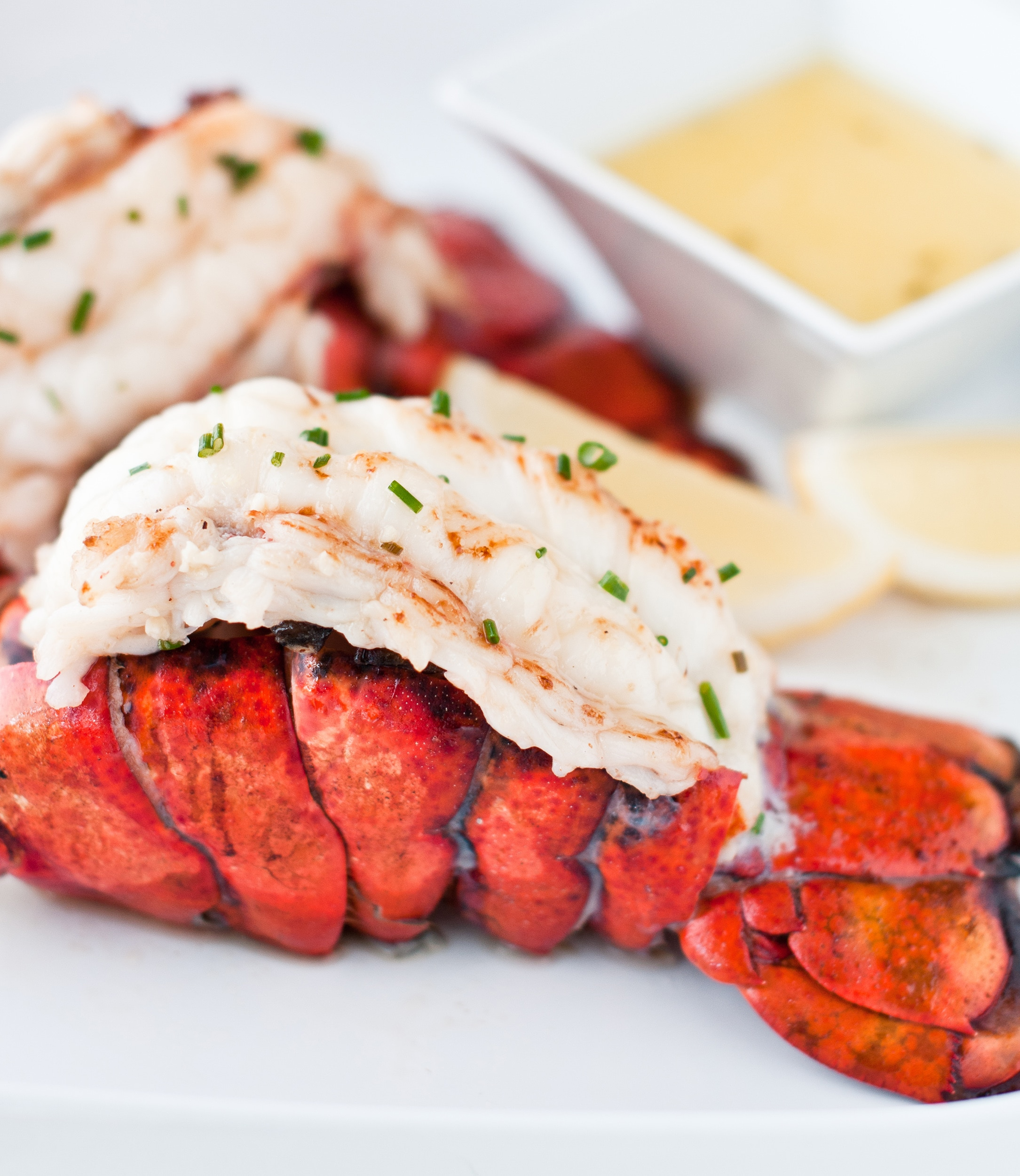 lobster tail with butter