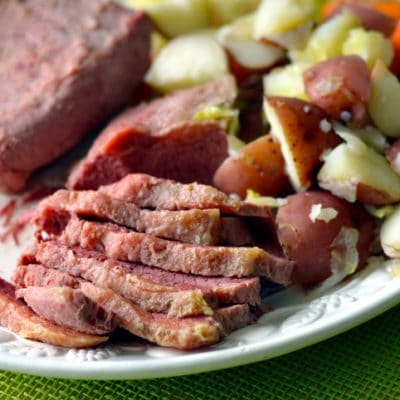 Corned beef Patrick's Day