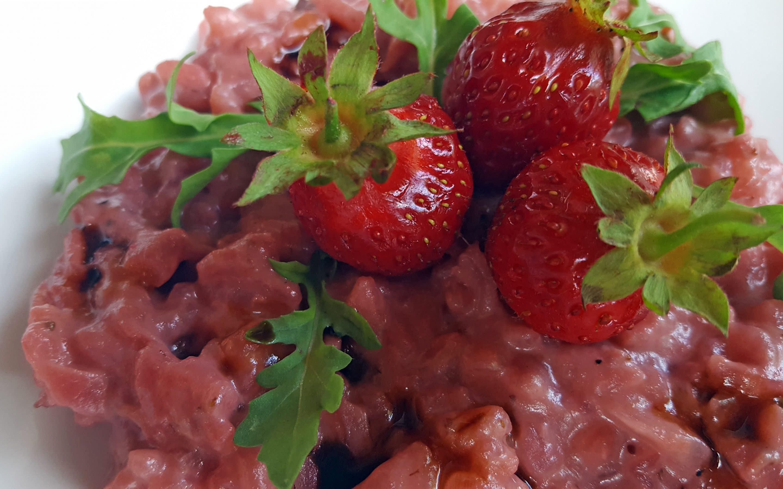 strawberry rissotto