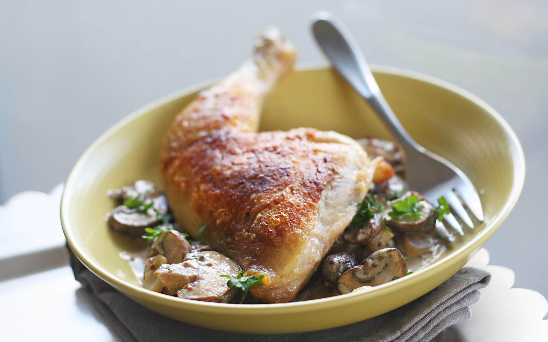 creamy chicken dinner