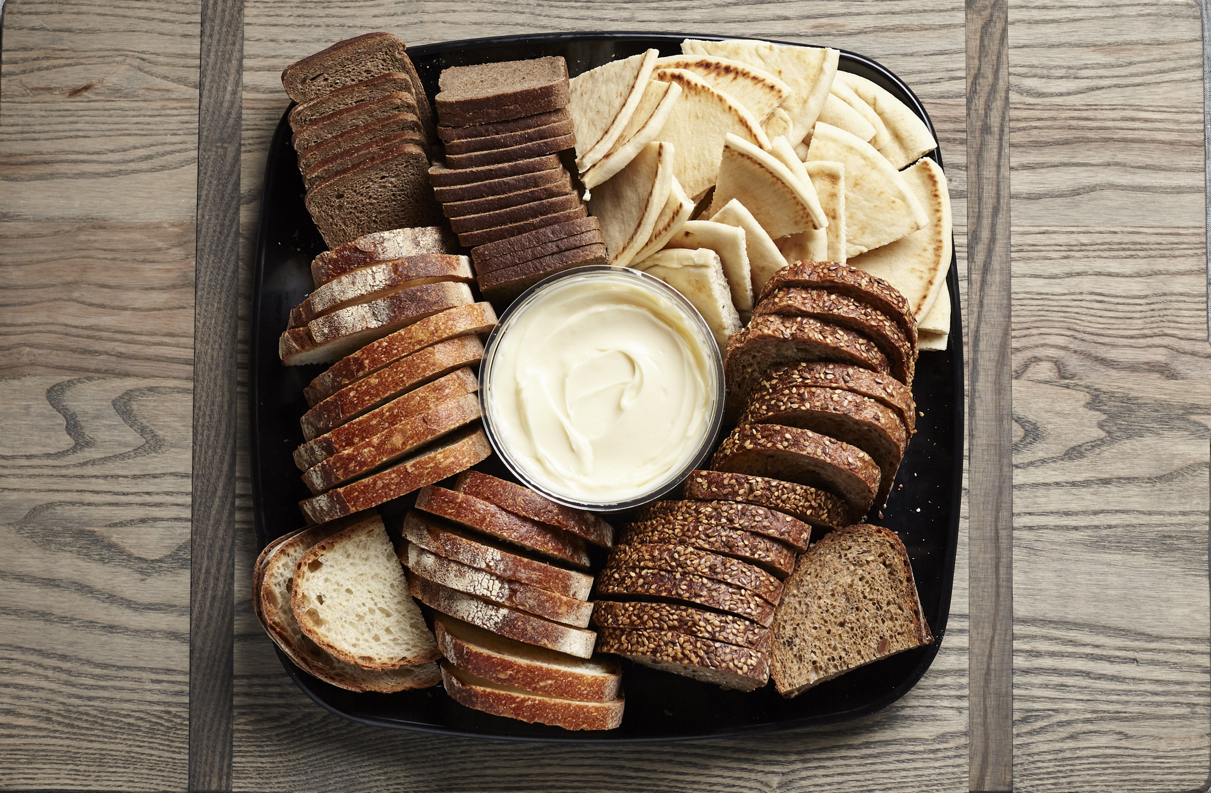 sandwich bread catering tray from Zupans
