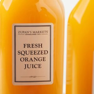 Zupan's Fresh Squeezed Orange Juice