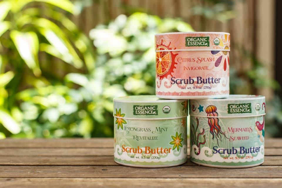 3 containers of body scrub from the Home and Bath section at Zupan's Markets