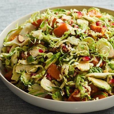 Brussels Sprouts Salad with Citrus Vinaigrette
