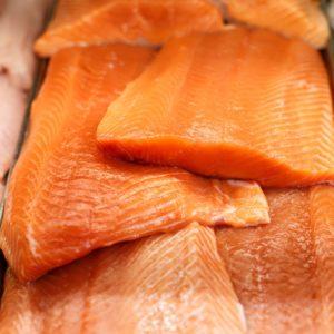 Wild Columbia River King Salmon Fillets