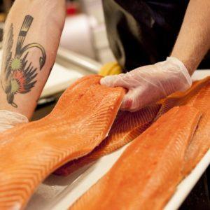 Fresh King Salmon Fillets