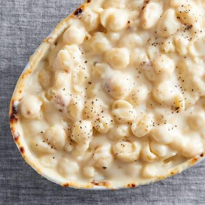 Creamy White Cheddar Mac & Cheese