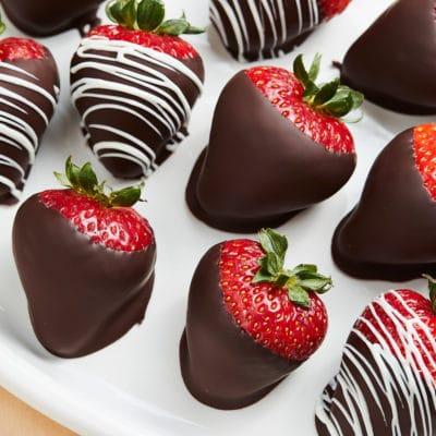 Chocolate Covered Strawberries, 6-pack