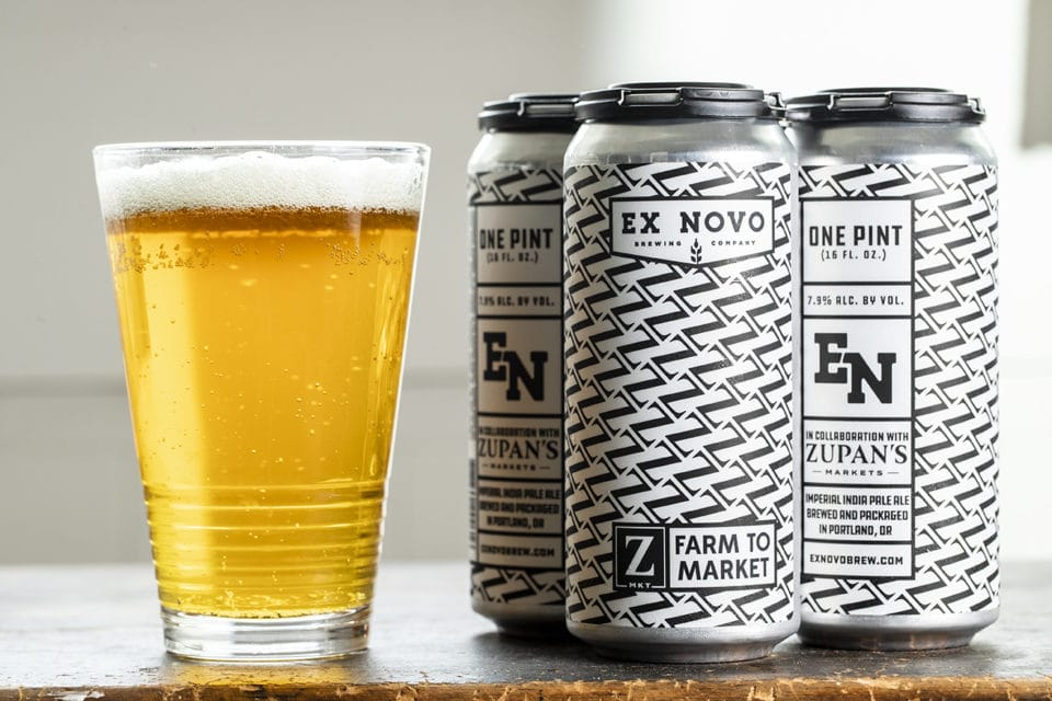 Ex-Novo beers available at Zupan's