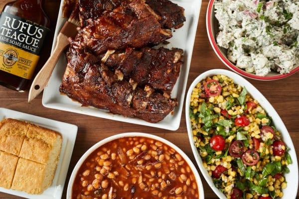 BBQ Rib Dinner