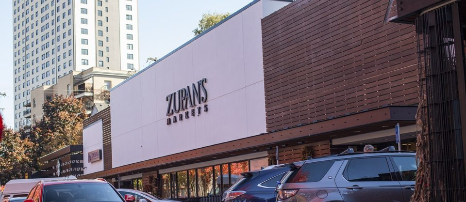exterior of the Burnside location of Zupan's Markets