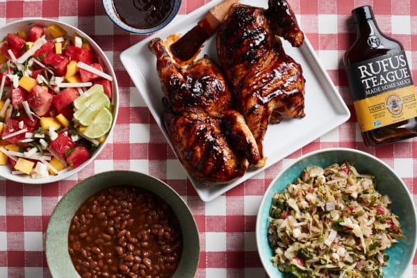 BBQ Chicken Dinner with Sides