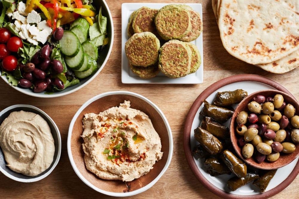 Mediterranean Dinner with Sides