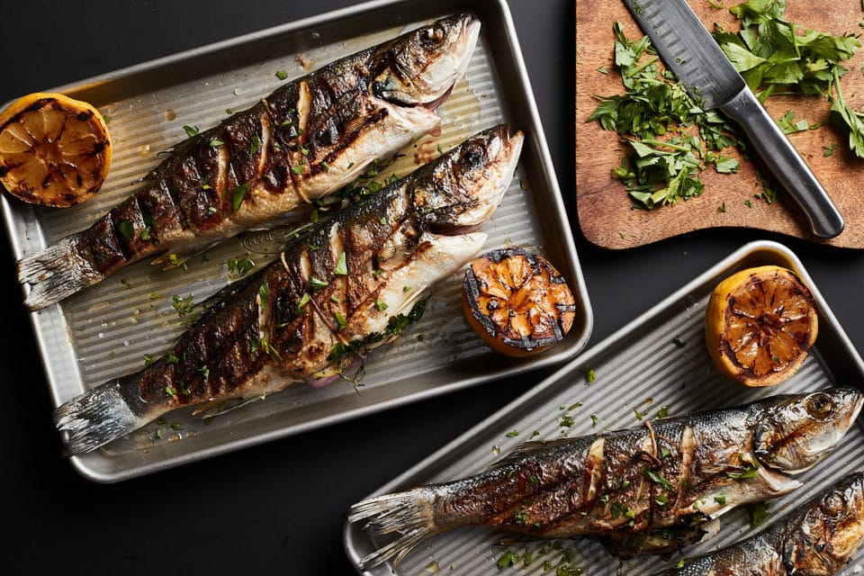 cooked Bronzini from Zupan's Markets gourmet grocery stores in Portland