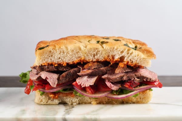 tritip steak sandwich from Zupan's