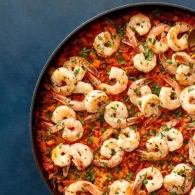 shrimp-chorizo-paella
