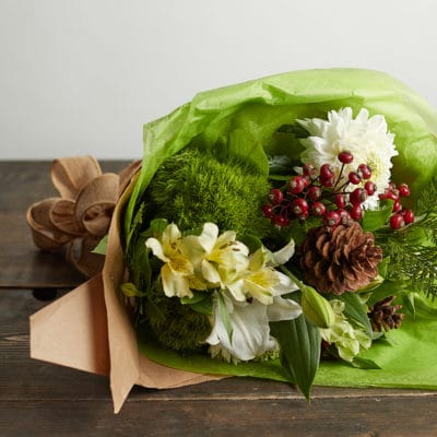 Holiday Hand-Tied Bouquet