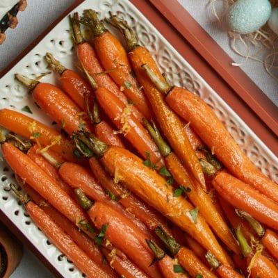 Lemon & Herb Roasted Carrots