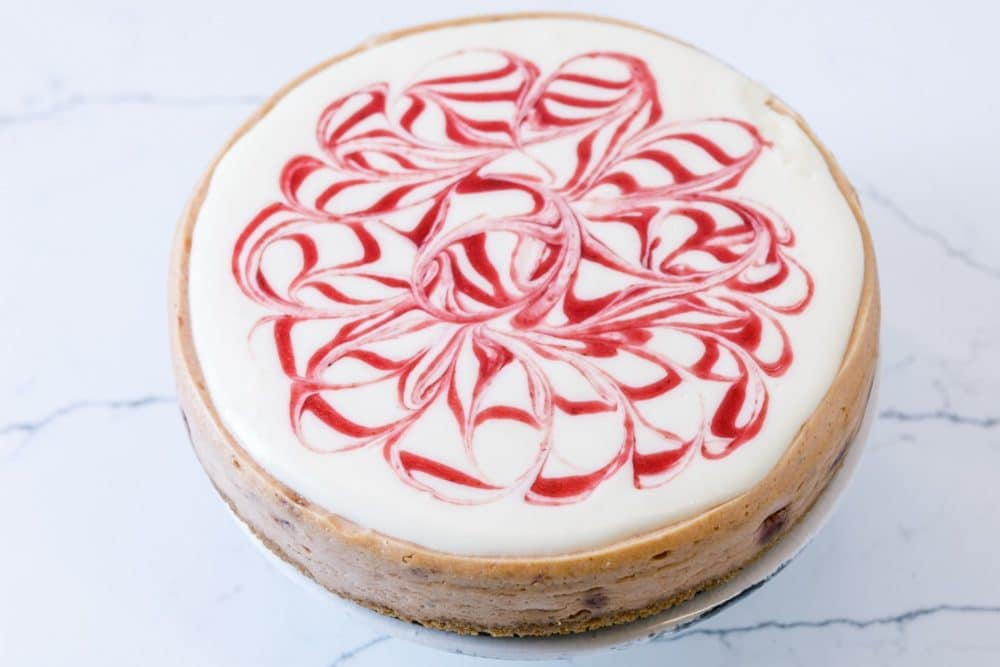 straberry cheesecake from Zupan's Markets bakery