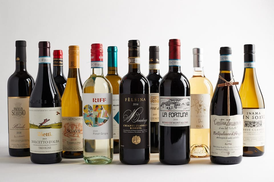 variety of wines for sale at Zupan's wine departments