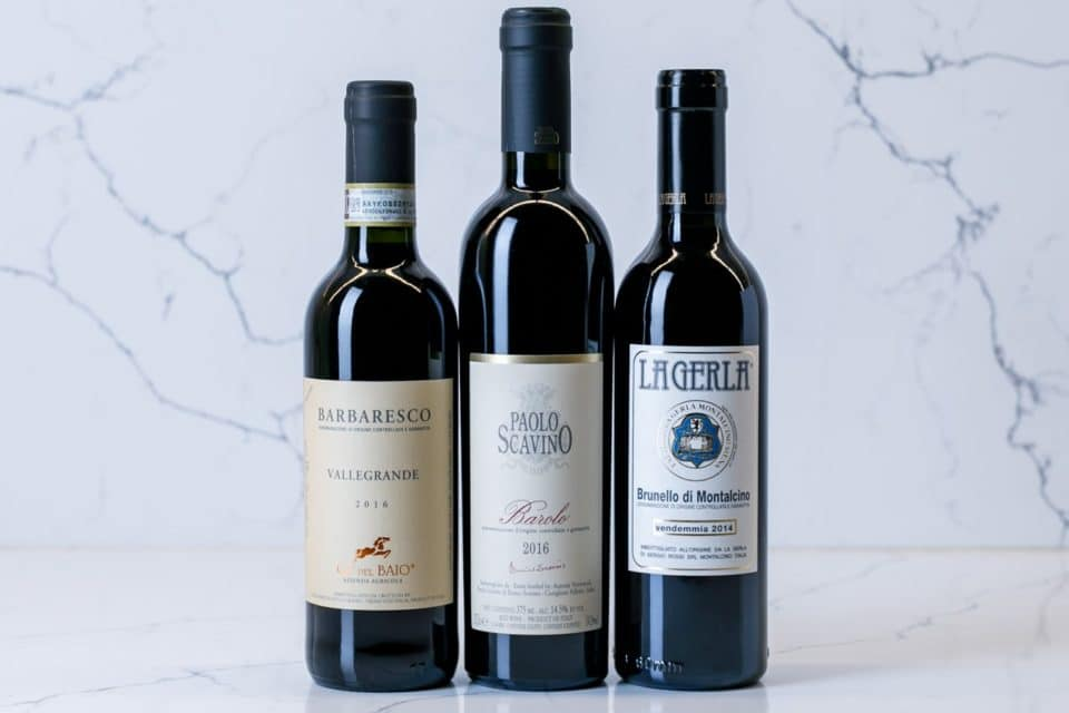 Italian wine tasting at Zupan's wine cellar on Burnside road