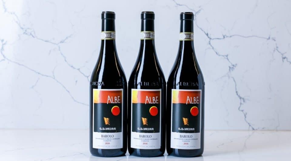 3 bottles of Albe wine