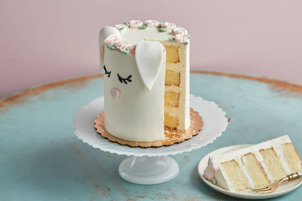 Easter bunny cake from Zupan's Markets bakery