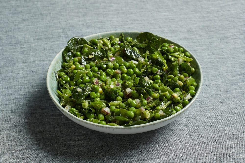 pesto pea salad at Zupan's Markets