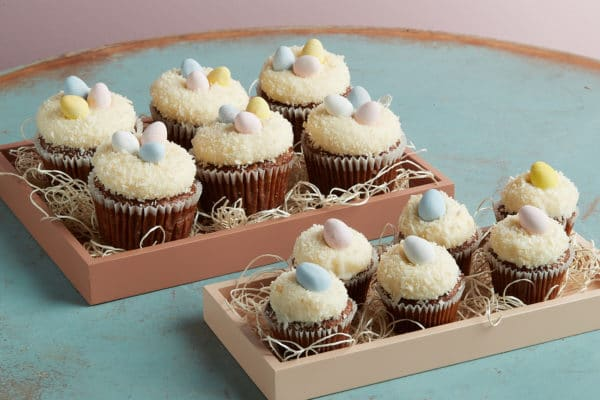 Zupan's Markets Easter themed cupcakes for sale at the bakery
