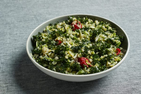 broccoli bouleh salad for Passover from Zupan's Markets