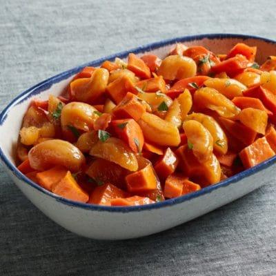 Sweet Potato & Apricot Tzimmes
