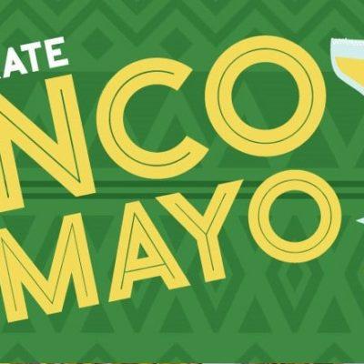 Celebrate Cinco de Mayo banner