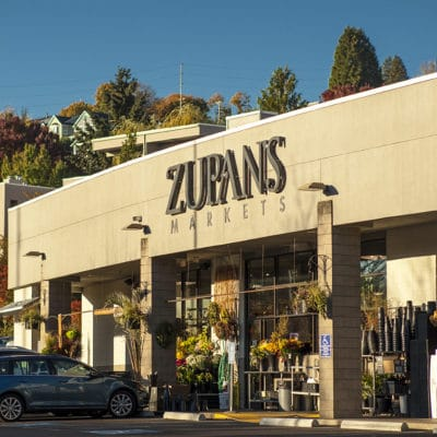 photo of the Zupan's Markets storefront at the SW Macadam location