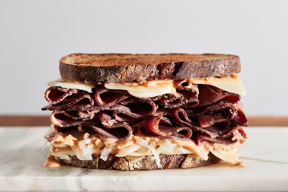 Reuben sandwich from Zupan's Markets