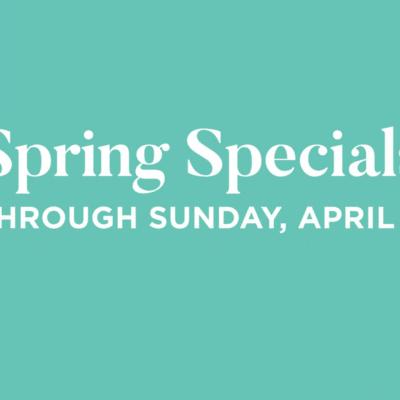 Spring Specials Cover