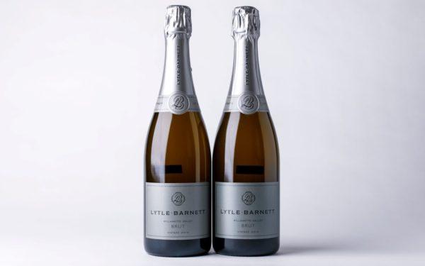 2 bottles of Lytle Barnet Brut